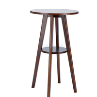 European Simple Bar Table Solid Wood Small Bar Table Tea Table Coffee Table Small Household Round