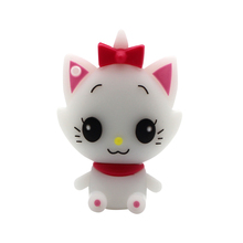 White Cat Kitty USB Memory Stick Flash Drive Disk