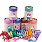 ①  Детские игрушки Спортивные прыжки со скакалкой Симпатичные деревянные игрушки Животное Ручка Скакалк ①