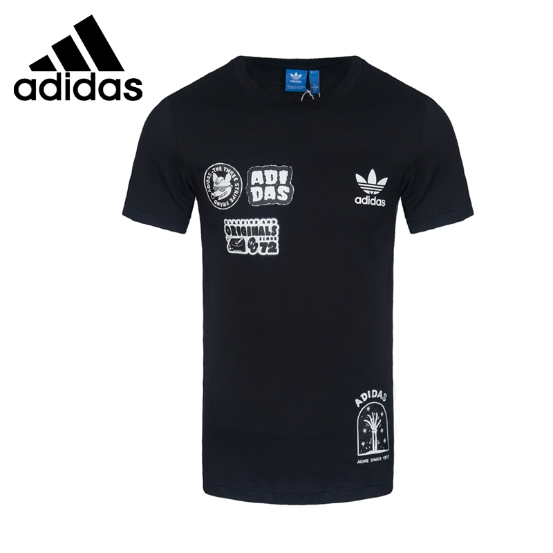 Original New Arrival 2017 Adidas Originals FF PLACEMENT + Men's  T-shirts  short sleeve Sportswear original adidas originals men s t shirts short sleeve sportswear