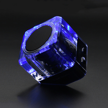 Wireless Bluetooth Speaker with LED light with Mic Stereo Surround Music Soundbar