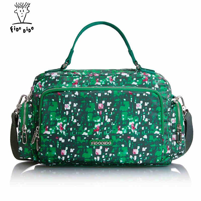 Fido Dido  Fashion Canvas Bag Handbag Shoulder Bags Messenger Bags Casual Blue Hobos Bolsa Feminina High Quality Large Capacity! fido