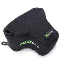 Neopren iç kamera çantası kılıf kapak için Fujifilm X T10 X T20 XT10 XT20 16 50mm Lens/X A5 X A20 XA5 XA20 15 45mm lens