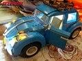 Luz led para arriba el kit para lego 10252 y lepin 21003 creador volkswagen escarabajo kits de edificio modelo figura ladrillos de juguete