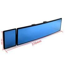 Автомобильное Зеркало 300 мм + 70 универсальное синее зеркало