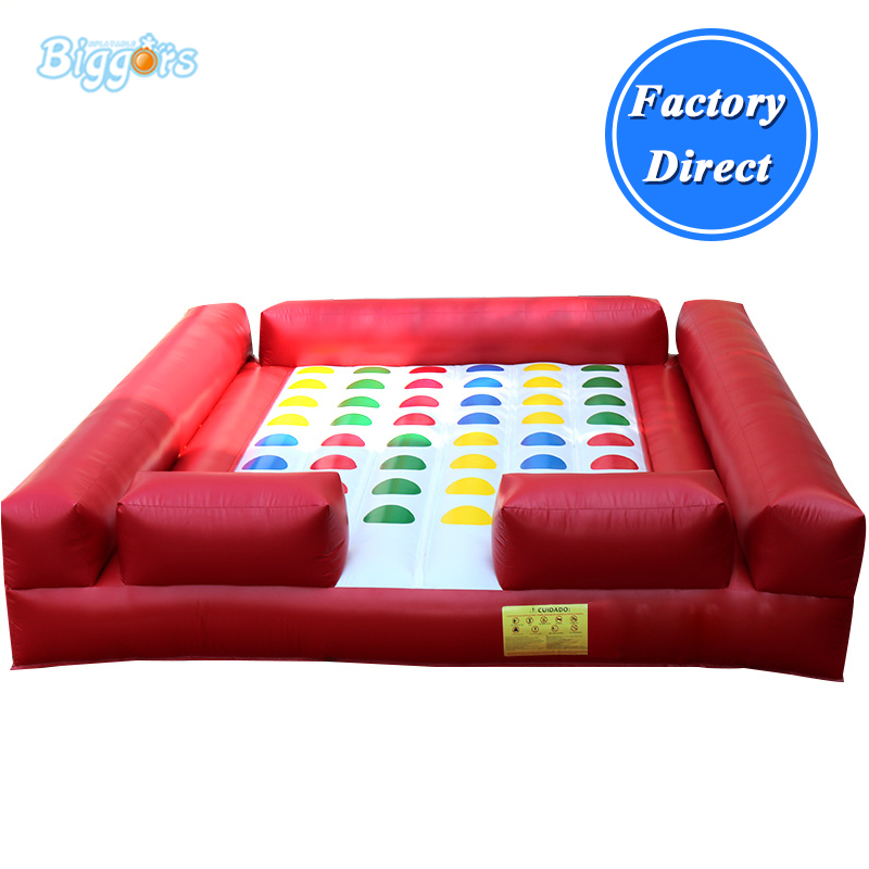 Popular Interactive Twister Outdoor Inflatable Twister Game цена
