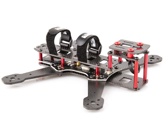 BeeRotor 210 210mm 4-Axis Full Carbon Fiber Racing Mini Quadcopter Frame with PCB board