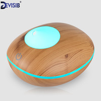 FEA Essential Oil Diffuser Wood Grain Ultrasonic Aroma Cool Mist Humidifier 200ml For Office Bedroom Baby