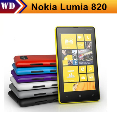 Nokia Unlocked Lumia 820 Smartphone 8gb 1gb GSM/WCDMA/LTE Refurbished Touchscreen Bluetooth