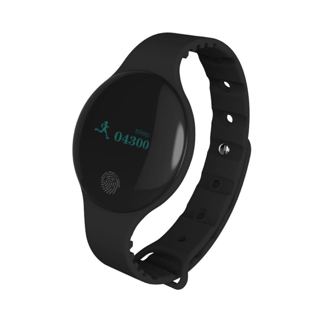 TLW08 Bluetooth Smart Watch Sport Bracelet Pedometer Camera Tracker For Android IOS