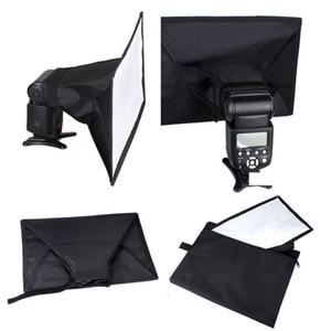 Image 5 - 2pcs Universal 30x20cm Flash Square Softbox  Diffuser for Canon Nikon Sony Yongnuo Godox Metz Speedlite