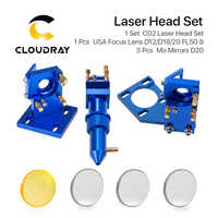 K Serie: CO2 Laser Head Set per 2030 4060 K40 Incisione Laser Macchina di Taglio
