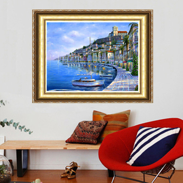 7464278bd0 Free Shipping NEW DIY 3D Diamond Painting Hand Embroidery Cross Stitch  Crystal Art Craft Creative Gift