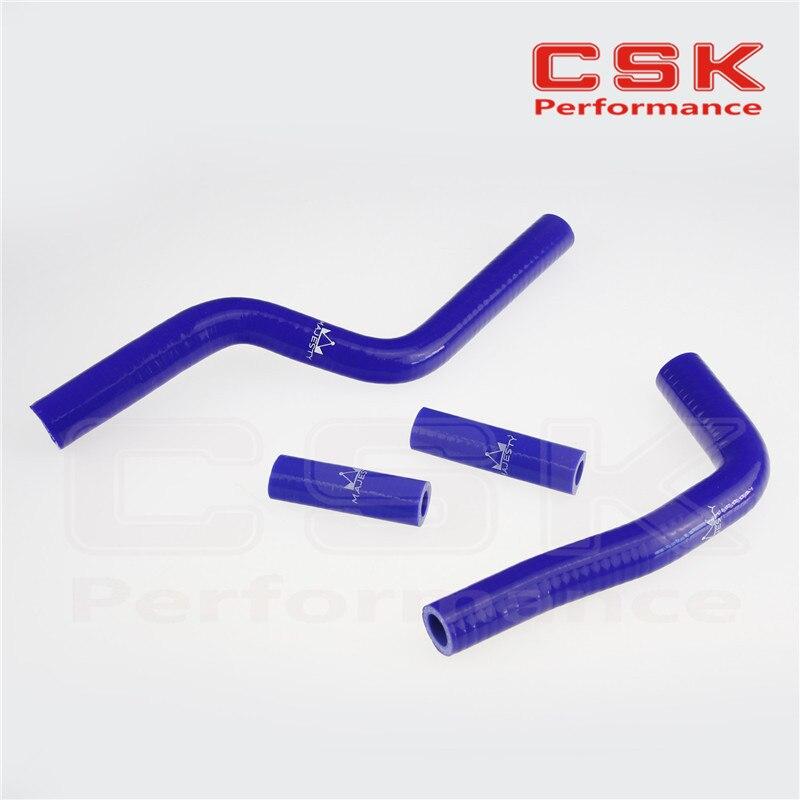 Silicone Radiator Coolant Hose For Yamaha YZ125 YZ-125 03 04 05 06 07 08 BLUE