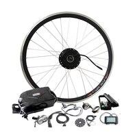 36 В Батарея 250 Вт 350 Вт 500 Вт двигателя для комплекта Электрический велосипед преобразования с светодио дный ЖК дисплей Дисплей PAS bldc контролл