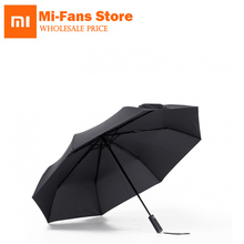 Xiaomi paraplu Automatische Zonnige Regenachtige Bumbershoot Aluminium Winddicht Waterdicht UV Parasol Man vrouw Zomer Winter Zonnescherm