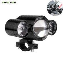 1PCS U10 30W 1200LM LED Motorcycle Headlight Devil Eyes Light Spot Light Fog Lamp Bulb 12-80V Waterproof High Low Strobe(China (Mainland))