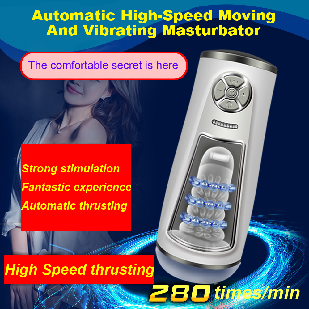 Fully Automatic High Speed Male Masturbator Size Adjustable Penis Massager Suction Sex Machines Adult Vibrator Sex Toys for Men automatic spanish snacks automatic latin fruit machines
