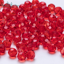 Mix item Red Czech Glass Beads Facted for Jewelry Making Necklace Materials DIY Loose Crystal Beads Wholesale Z117