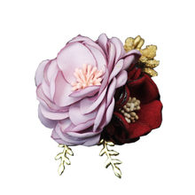 i-Remiel Fabric Rose Flower Brooch Female Cloth Art Pins Brooches Women Coat Business Suit Shawl Pin Buckle Jewelry Accessories(China)