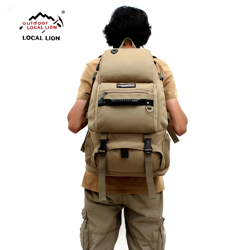 LOCALLION 40L 3D Outdoor Sport Military Tactical climbing mountaineering Backpack Camping Hiking Rucksack Travel Bag locallion 20l unisex bicycling hiking climbing cycling backpack outdoor riding running rucksack sports bag