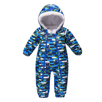 2019 New Collection Winter Baby Clothes Rompers Hooded Toddler Girl Boy Clothes One Pieces Jumpsuit Winter Cotton Baby Outerwear