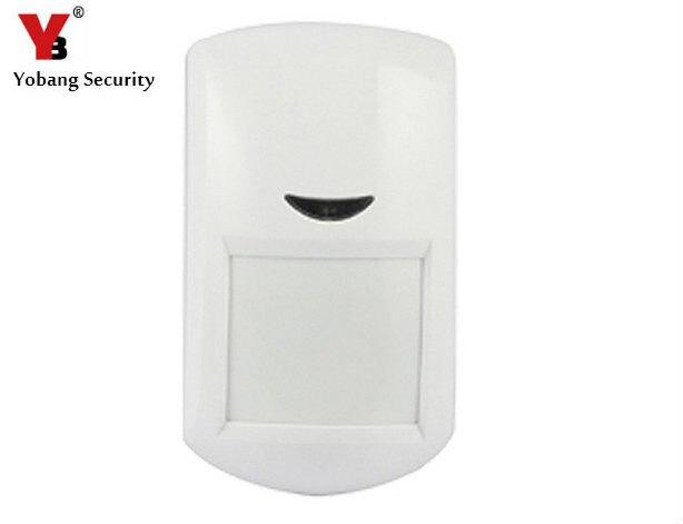 YobangSecurity 433 Mhz EV1527 bezprzewodowy pasywny czujnik podczerwieni PIR czujnik wykrywacz ruchu dla bezprzewodowy WIFI system alarmowy w domu