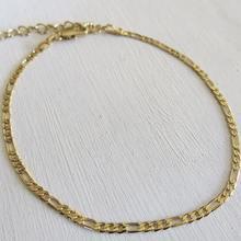 8b8ba6808b6b Venta caliente moda Figaro cadena pulsera tobillo pie joyas ajustable 3mm tobillo  pulsera para las mujeres
