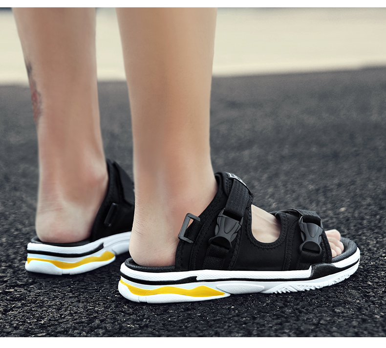 Man Beach Sandals Summer Gladiator Men's Outdoor Shoes Roman Men Casual Shoe Light Flip Flops Slippers Fashion Sandals Casuals 26