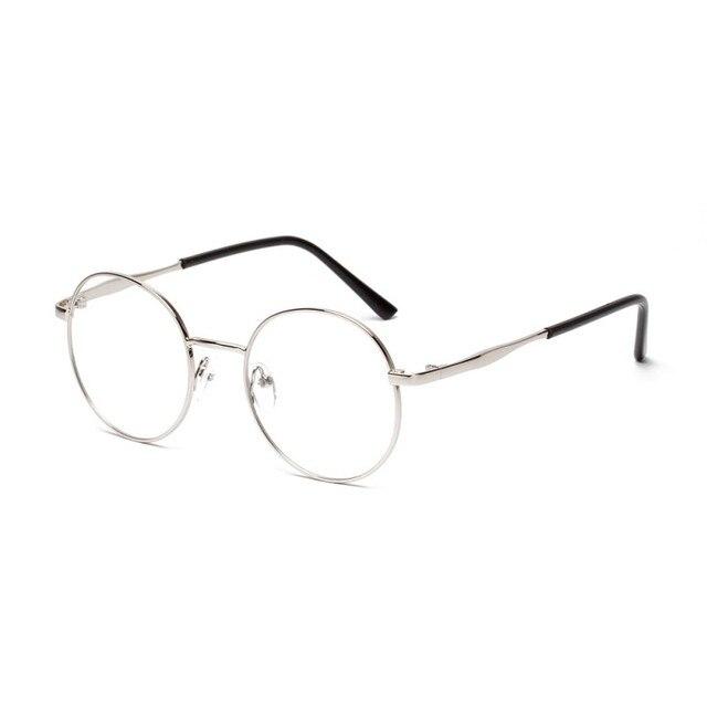 Marca Para Mujer Diseñador Nerd Geek Niñas Gafas Redondas Gafas de ...