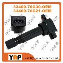Новые высококачественные Катушка зажигания для fitsuzuki Alto III G10BB Wagon R K10A 1.0L L4 33400-76G30 33400-76G21 1998-2002
