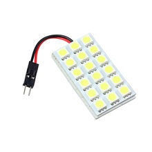 AUTO 18 SMD 5050 LED T10 BA9S Car Van automobiles car-styling Dome Festoon Car Interior COB LED Lamps car stylingfeb16(China)