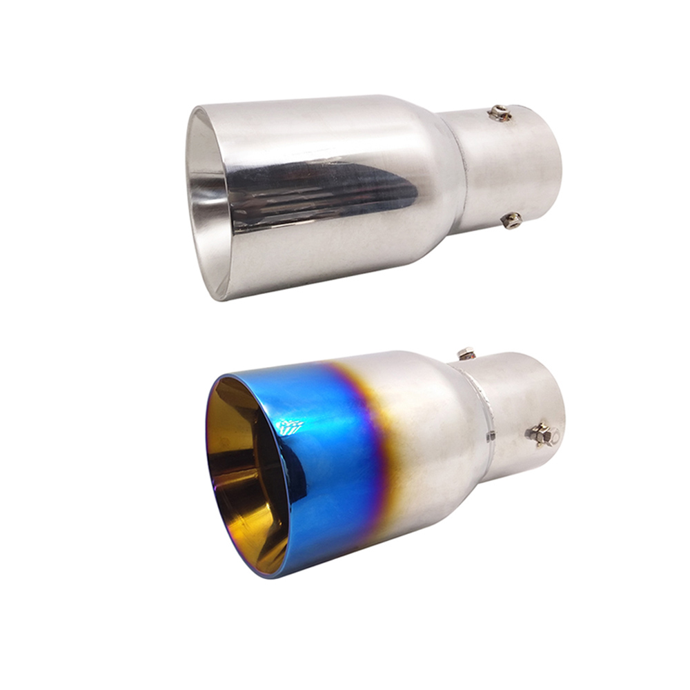75mm for Audi Honda Alfa Romeo Buick Ford Holden Jaguar Volvo Car Exhaust Muffler Tip Pipe Chrome Trim Modified Car Styling|Mufflers|Automobiles & Motorcycles - title=