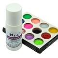Hot12 Mix Colors Nail Art Acrylic Dust Powder 75ml Acrylic Liquid Monomer Set For 3D False Nail Tips DIY Design