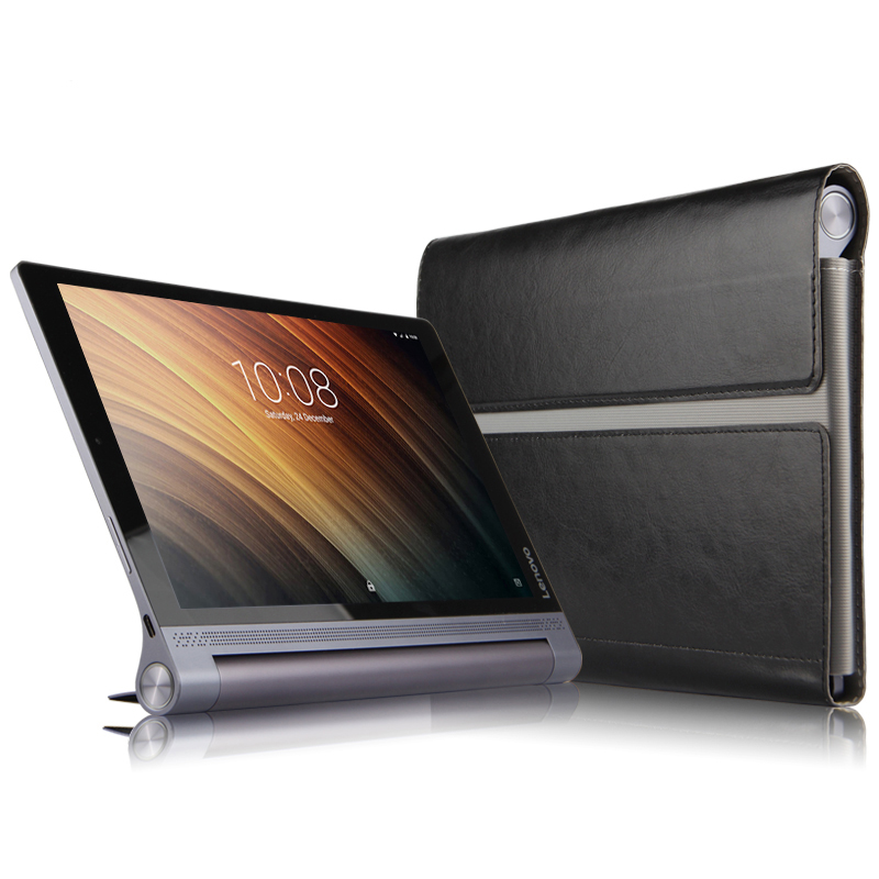 High Quality Cover Case For Lenovo Yoga Tab3 Tab 3 Plus YT-X703F X703L 10.1 inch Tablet PU Leather protective cover + Stylus folio stand holder luxury magnetic leather case full protective sleeve cover for lenovo yoga tab3 plus 10 1 yt x703f tab 3 x703l