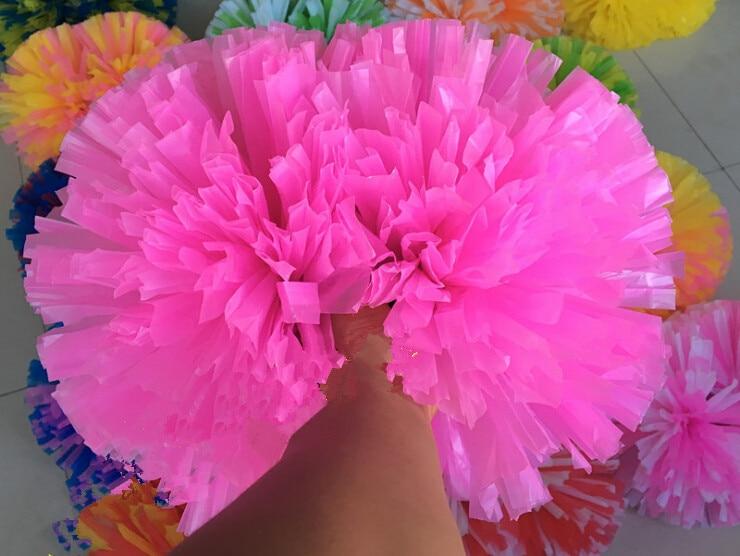 Kostenloser Versand Spiel Pompons Günstige praktische Cheerleading - Mannschaftssportarten - Foto 3