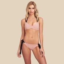 5684fbb301 Vedere Attraverso Mesh Micro Insieme Del Bikini Delle Donne Brasiliano di  2018 Sheer Bikini Del Sesso