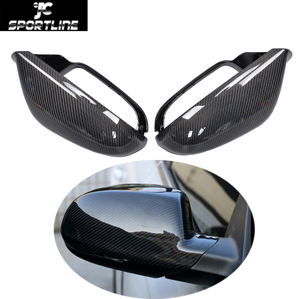 carbon fiber replacement styling car side mirror cover trim fit Not line assist for Audi A6 S6 RS6 2013-2014 porcelain dresser knobs pulls drawer pull handles kitchen cabinet door knobs white gold silver furniture cupboard hardware