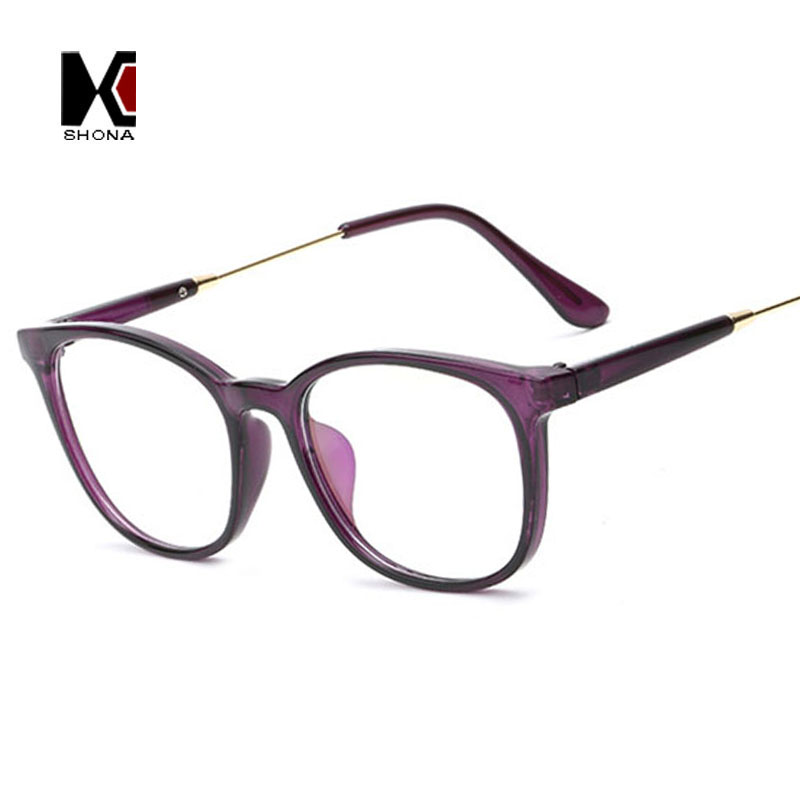 Retro Square Glasses Frame Brand Designer Fashion Women ...