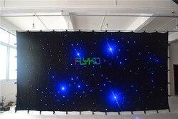 Chiny rynku elektronicznego 3x6 m kurtyna świetlna LED z motywem gwiazd darmowa wysyłka|led star curtain|china market of electronicchina market -