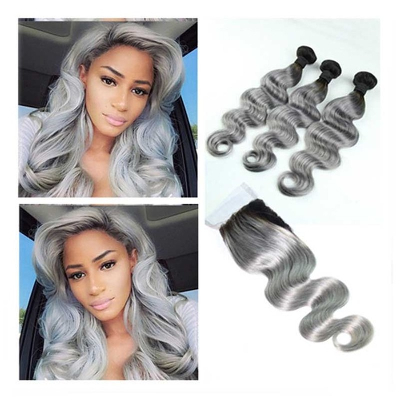 Full-Shine-Brazilian-Real-Human-Hair-3-Bundles-With-Lace-Closure-Color-1B-Ombre-Silver-Body.jpg_640x640_