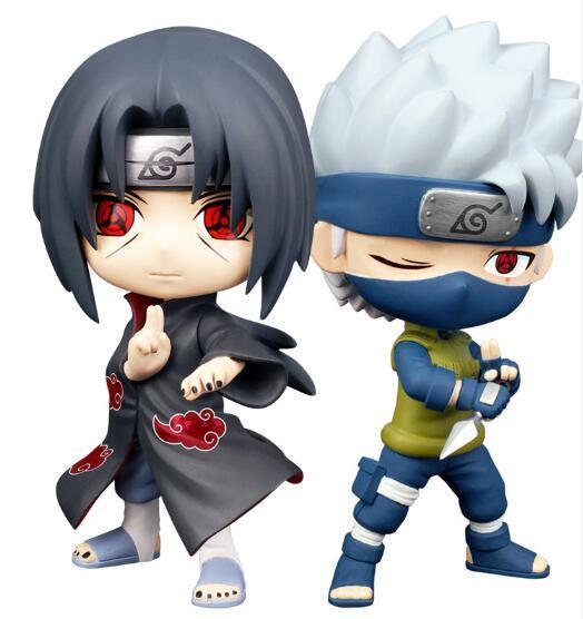 Figuras De A 231 227 O Naruto Hatake Kakashi Uchiha Itachi Figura