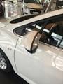Para Chevrolet Cruze 2017 2018 chrome abs styling toldo abrigos espelho retrovisor lateral sol capa de chuva guarda neve adesivo