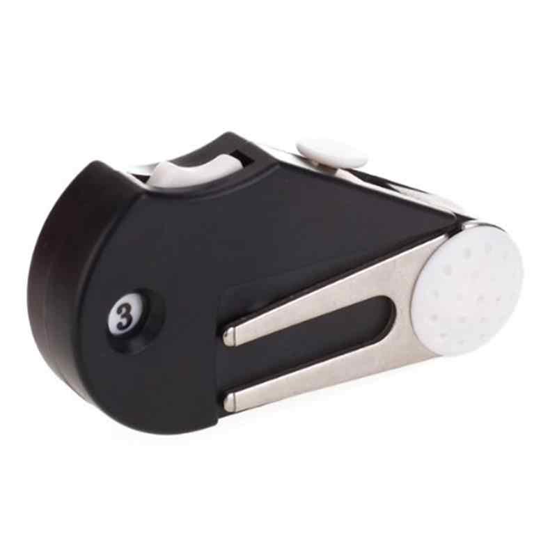 5-in-1 Golf Divot Tool Groove Cleaner Brush Ball Marker Score Counter
