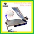 1 Цвет вакуум сосать рабочий стол экран печатная машина с микро регистрации (все-в-одном печатная машина)