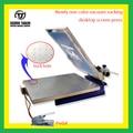 1 de succión de vacío de Color máquina de impresión de pantalla de escritorio con micro registro (todo-en-una máquina de impresión)