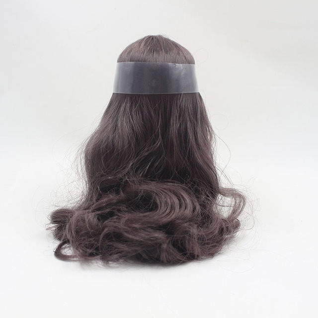 Middle Blyth hair scalp wig for factory blyth doll All Kinds Of Colors With/out Bangs Specially For DIY