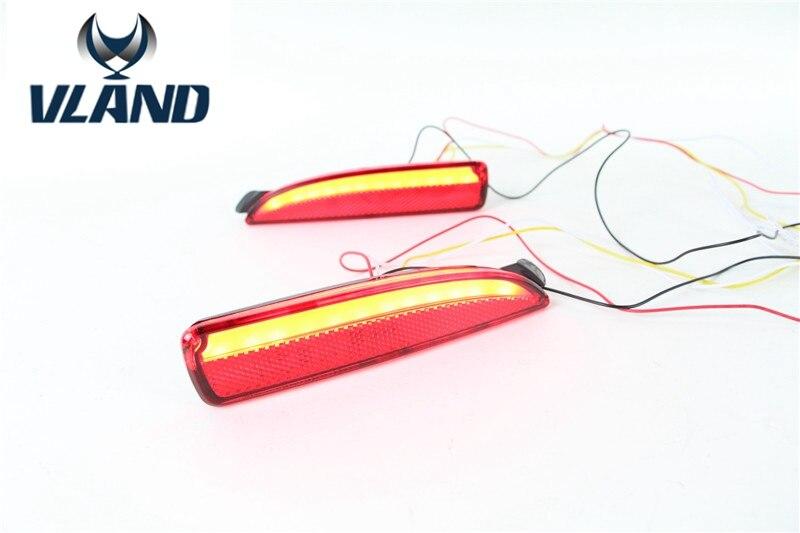Free shipping for Mazda 6 Atenza LED back bumper light for Axela warning light cheetah for mazda 3 6 atenza axela daytime running light