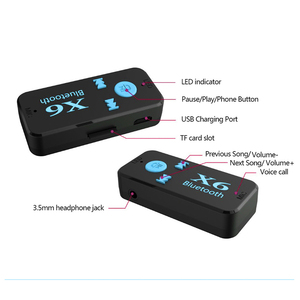 Image 3 - Adaptador Bluetooth 3 en 1 receptor USB inalámbrico, para Opel Astra H G J, Insignia Mokka Zafira Corsa Vectra C D Antara