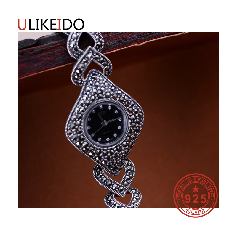 100% Pure 925 Sterling Silver Watch Men Fashion Hand Chain For Women Thai Silver Jewelry Charm Bracelet Homme 1526100% Pure 925 Sterling Silver Watch Men Fashion Hand Chain For Women Thai Silver Jewelry Charm Bracelet Homme 1526